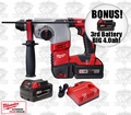 Milwaukee 2605-22 M18 7/8'' SDS Plus Rotary Hammer Kit + 3rd Batt = 4.0ah