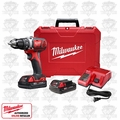 Milwaukee 2606-22CT M18 Lithium-Ion Compact Drill Driver Kit