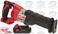 Milwaukee 2620-20 M18 Sawzall (Tool Only) + one M18 2.0a BATT