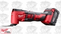 Milwaukee 2626-22 M18 Cordless Li-Ion Multi-Tool Kit - 2 Big Batteries