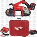 Milwaukee 2629-22 18 Volt M18 Cordless Band Saw Kit Open Box
