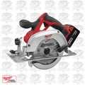 "Milwaukee 2630-22 18 V M18 Lithium-Ion 6-1/2"" Cordless Circular Saw"