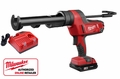 Milwaukee 2641-21CT 18 Volt Cordless Caulk/Adhesive Gun w/ 10oz Carriage Kit