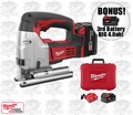 Milwaukee 2645-22 M18 Cordless Jig Saw Kit + 3rd Batt = 4.0ah