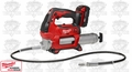 Milwaukee 2646-21CT 10,000psi M18 Cordless 2-Speed Grease Gun