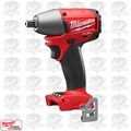 "Milwaukee 2655B-20 1/2"" Impact Wrench with Ball-Pin (Bare Tool)"