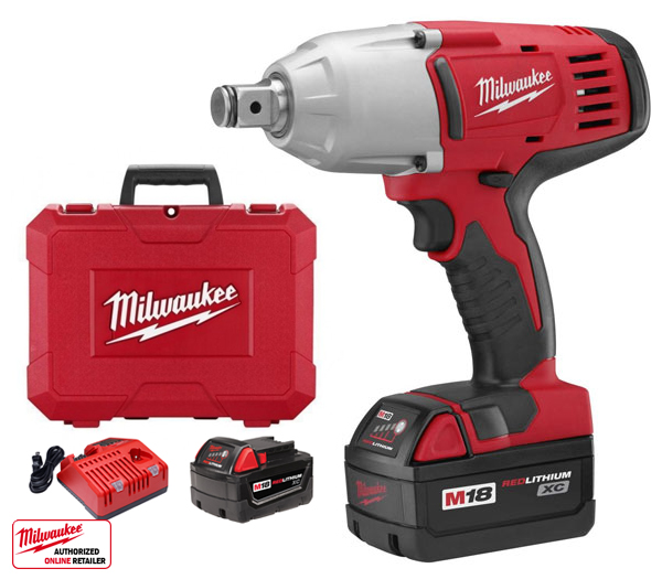 Milwaukee 2664-22 18 Volt 3/4'' Square Drive Impact Wrench