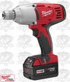 "Milwaukee 2665-22 18 Volt 7/16""Hex High Torque Impact Wrench w/ Hog Ring"