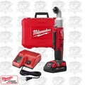 "Milwaukee 2667-21CT M18 Cordless 2-Speed 1/4"" Right Angle Impact Driver Kit"
