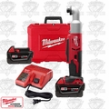 "Milwaukee 2667-22 M18 Cordless 2-Speed 1/4"" Right Angle Impact 2XC Kit"