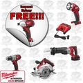 Milwaukee 2691-24P M18 Lithium-Ion Cordless 4 Tool Combo Kit