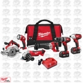 Milwaukee 2696-26 18 Volt M18 6 Piece Tool Kit Open Box