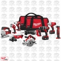 Milwaukee 2696-29 18 Volt M18 Cordless 9-Piece Combo Kit