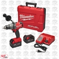 "Milwaukee 2703-22 M18 Gen 2 FUEL 1/2"" Drill/Driver Kit 5.0Ah Batteries"