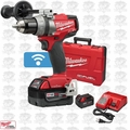 "Milwaukee 2705-22 M18 FUEL 1/2"" Drill/Driver with ONE-KEY Kit Open Box"