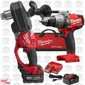 "Milwaukee 2707-22 M18 FUEL HOLE HAWG 1/2"" Right Angle Drill w/ Drill Driver"