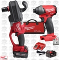 Milwaukee 2708-22 M18 FUEL HOLE HAWG Right Angle Drill Kit w/ Hex Impact