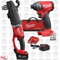 "Milwaukee 2709-22 M18 FUEL SUPER HAWG 1/2"" Right Angle Drill w/ Hex Impact"