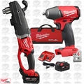 "Milwaukee 2709-22 M18 FUEL SUPER HAWG 1/2"" Right Angle Drill w/Impact Wrench"