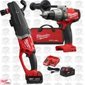 Milwaukee 2711-22 M18 FUEL SUPER HAWG Right Angle Drill w/Hammer Drill