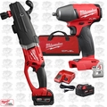 Milwaukee 2711-22 M18 FUEL SUPER HAWG Right Angle Drill w/ Impact Wrench