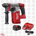 "Milwaukee 2712-20 M18 FUEL 1"" SDS Plus Rotary Hammer Kit"