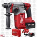 "Milwaukee 2712-22 M18 FUEL 1"" SDS Plus Rotary Hammer Kit Open Box"