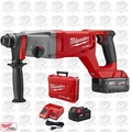 "Milwaukee 2713-22 M18 FUEL 1"" SDS Plus D-Handle Rotary Hammer Kit Open Box"