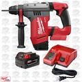 "Milwaukee 2715-20 M18 FUEL 1-1/8"" SDS Plus Rotary Hammer Inc. Batt & Chrgr"