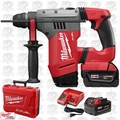 "Milwaukee 2715-22 M18 FUEL 1-1/8"" SDS Plus Rotary Hammer Kit Open Box"