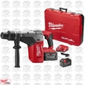 "Milwaukee 2717-22HD M18 FUEL 1-9/16"" SDS Max Hammer Drill Kit Open Box"