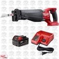 Milwaukee 2720-20 18V M18 FUEL SAWZALL Reciprocating Saw Inc. Batt & Charger