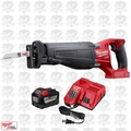 Milwaukee 2720-20 M18 FUEL SAWZALL Reciprocating Saw + 9.0Ah BATT + CHARGER