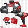 Milwaukee 2729-21 M18 Fuel Deep Cut Cordless Band Saw w/ Hammer Drill Driver