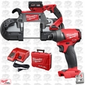 Milwaukee 2729-21 M18 Fuel Deep Cut Cordless Band Saw w/ Hex Impact