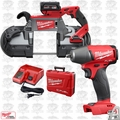 Milwaukee 2729-21 M18 Fuel Deep Cut Cordless Band Saw w/ Impact Wrench