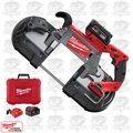 Milwaukee 2729-22 M18 Fuel Deep Cut Band Saw Kit with 2 Batt