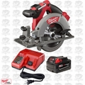 "Milwaukee 2730-20 18v M18 FUEL 6-1/2"" Circular Saw Kit Inc: Batt & Charger"