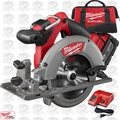 "Milwaukee 2730-21 M18 FUEL 6-1/2"" Circular Saw Kit"