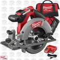 "Milwaukee 2730-21 M18 FUEL 6-1/2"" Circular Saw Kit Open Box"