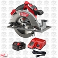 "Milwaukee 2731-20 M18 FUEL 7-1/4"" Circular Saw 1 3.0 Battery & Charger Kit"