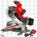 "Milwaukee 2734-21HDP M18 FUEL 10"" Miter Saw Kit w/ Bonus 2nd 9.0Ah Battery"