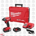 "Milwaukee 2753-22CT M18 Gen2 FUEL 1/4"" Hex Impact Driver Kit w/ 2Ah CP Batts"