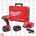 "Milwaukee 2754-22 M18 Gen 2 FUEL 3/8"" Compact Impact 5.0Ah Fric-Ring Kit"