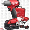 "Milwaukee 2755-22 M18 FUEL 1/2"" Compact Impact Wrench w/ Pin Detent 3 5.0Ah"