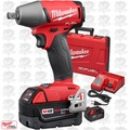 "Milwaukee 2755-22 M18 FUEL 1/2"" Compact Impact Wrench w/ Pin Detent Kit OB"