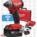 "Milwaukee 2757-22 M18 FUEL 1/4"" Hex Impact Driver with ONE-KEY Kit Open Box"