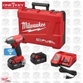 "Milwaukee 2758-22 M18 FUEL 3/8"" Compact Impact w/ Frict Ring + ONE-KEY Kit"