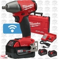 "Milwaukee 2759-22 M18 FUEL 1/2"" Compact Impact w/ Pin Detent ONE-KEY + 3 5Ah"