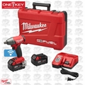"Milwaukee 2759-22 M18 FUEL 1/2"" Compact Impact w/ Pin Detent + ONE-KEY Kit"